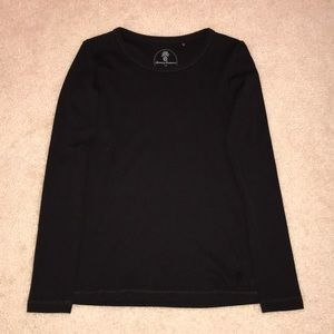 Brand New Tommy Bahama Black Long Sleeve T-Shirt.